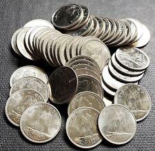 Lot of 50x 1980 Canada 10 Cent Coins - Wide 0 Varities - GEM BU