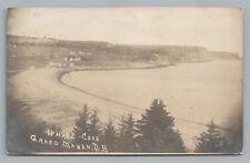 Whale Cove GRAND MANAN New Brunswick RPPC Rare Antique Photo Postcard 1907