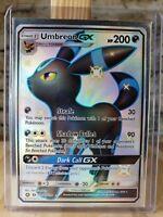 Pokemon Hidden Fates. Umbreon GX Secret Rare Full Art. SV69/SV94. Holo