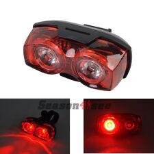 RAYPAL RPL-2230 3 Mode 1W 2 Red LED Bike Rear Light Bike Safety Flashing Light