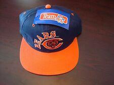 CHICAGO BEARS DPM   SPLASH SCRIPT NEW VINTAGE 90'S HAT CAP  SNAPBACK