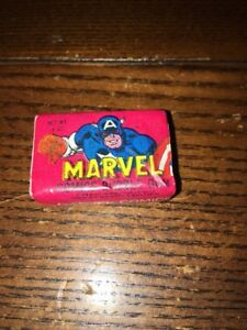Rare New Old Stock 1979 Marvel Gum Sealed - Captain America