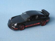Matchbox porsche 911 GT3 corps noir en bp jouet modèle voiture sport 70mm