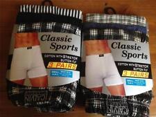 Unbranded Cotton Blend Checked Underwear for Men