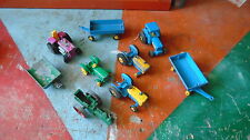 lot tracteur matchbox lesney made in england superfast taille majorette farmer