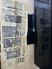 More details for vintage daily mirror newspaper 1953 x 6 papers from june 1st- june 6th free p&p