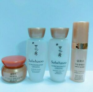 1Box Sulwhasoo Concentrated Ginseng ANTI-AGING Kit 4 Items (AU Stock)