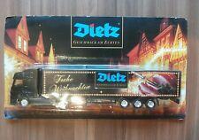 Minitruck Biertruck Brauereitruck 1:87 Mercedes Truck mit Dietz Werbung in OVP