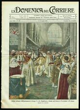 1911 Coronation Ceremony of King George V of England at Westminster Abbey