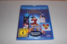 Blu Ray  Walt Disney Fantasia Blu Ray + DVD viele Extras Neu in Folie