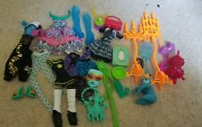 Monster High clothing shoes and accessories lot A