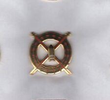 US Army 41st Field Artillery Brigade crest DUI clutchback c/b badge G-23