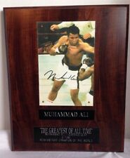 Muhammad Ali Signed Plaque Limited Edition Signature Series 1310/5000