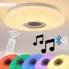 Decken Leuchten LED RGB  Fernbedienung Bluetooth Lautsprecher Wohn Zimmer Lampen