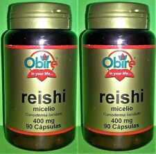 Reishi 400 mg 2x90 caps Sistema Inmune Antioxidante Cancer Antinflamatorio