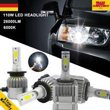 110W 26000LM D1S D2S Auto Scheinwerfer Kit LED Birnen Lampen Weiß für BMW Benz