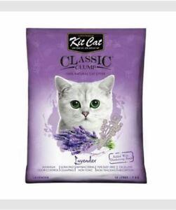 10L Kit Cat. Cat Litter Sand. KitCat - Lavender