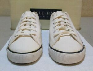 New Cole-Haan #02288 10.5 M white canvas (6283)