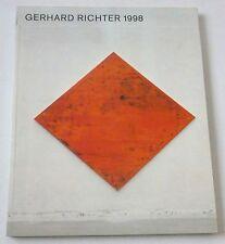 Gerhard Richter - 1998 PAPERBACK  ART EXHIBITION CATALOGUE