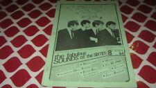 FAB SOUNDS OF THE 60'S # 44 1983 BEAT MOD ZINE MERSEY BEATS MARTY ROBBINS ETC