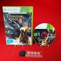 Dungeon Siege 3 - Microsoft Xbox 360 PAL Game *BellaRoseCollectables*