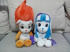 2010 SINGAPORE YOUTH OLYMPIC 2 MASCOTS SOFT PLUSH TOYS 500mm 380mm