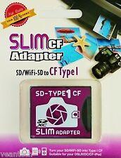CF Adapter SD/SDHC/SDXC/WiFi SD auf CompactFlash Typ I CF Karte Adapter NEU&OVP