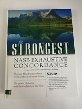 The Strongest NASB Exhaustive Concordance by Robert L Thomas Zondervan