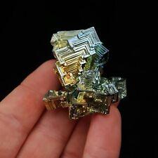 Bismuth Crystal -   66g specimen- Gem Stallion-  USA Labgrown Crystal