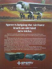 8/1980 PUB SPERRY FLIGHT SYSTEMS B-52 BOMBER US AIR FORCE SAC ORIGINAL AD