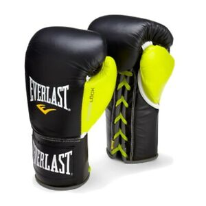Everlast Powerlock Pro Fight Gloves 10 oz XL (retail $149.99)