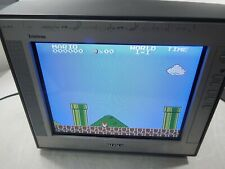 "Sony Trinitron KV-13FM12 13"" Retro Gaming Color CRT Television No Remote"