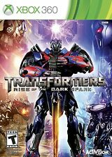 NEW Transformers Rise of the Dark Spark Microsoft Xbox 360