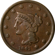 1841 Large Cent Great Deals From The Executive Coin Company