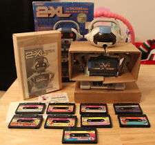1992 Tiger 2-Xl Talking Robot Cassette Player With Original Box Manual & 9 Tapes