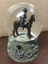 Westland Sarah's Attic Tenth Cavalry Buffalo Soldiers Snowglobe #S407