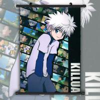Hunter X Hunter Killua HD Print Anime Wall Poster Scroll Room Decor