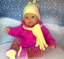 Kleidung & Accessoires Puppen & Zubehör Jacke,Hose,Handschuhe,Mütze und Schal passend für Chou Chou 36 cm Neu