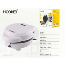 PIASTRA PROFESSIONALE PER WAFFLE WAFFEL 830W DOLCI PARTY FESTE COMPLEANNO DOLCE