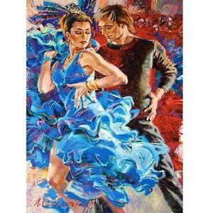 1000 Pieces Puzzle, Dance IN The Turquoise Tones, Castorland 103287