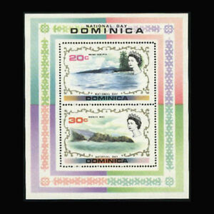 Dominica, Sc #347a, MNH, 1972, S/S, Royalty, National Day, AR5GD-9