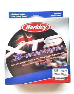 Berkley 2lb / 300YD - Brown Recluse  XTS 3 Series Monofilament  Item K 23