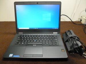 DELL LATITUDE E7470 i7-6650U 2.20GHz 8GB 256GB SSD Windows 10 Pro - Tested