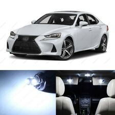 17x White LED Interior Lights Package For 2014 2017 Lexus IS300 IS350 IS250 TOOL