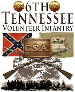 6th Tennessee Volunteer Infantry American Civil War 11 X 14 Print