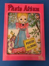 Vintage BIG EYES GIRL Keane style Photo Albums Japan New in box old