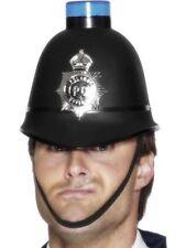 Unisex Da Uomo Police CASCO LAMPEGGIANTE EMERGENZA Cappello Costume accessorio divertente