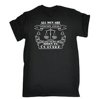 All Men Are Created Equal But The Best Born In October Libra T-SHIRT birthday