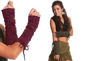 ARM WARMERS, fleece GLOVES, GEKKO wrist warmers, fingerless gloves,Pixie clothes