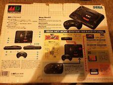 SEGA Mega Drive Home Console JAPAN Japanese Console Boxed - pal i asain